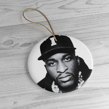Vintage Rakim 1980s and 90s Hiphop Legend Christmas Ornament