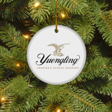 Yuengling Lager Christmas Circle Ornament