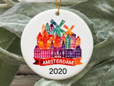 2020 Amsterdam Christmas Ornament
