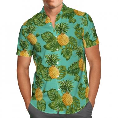 Amazing Pineapple Hawaiian Shirt, Beach Shorts