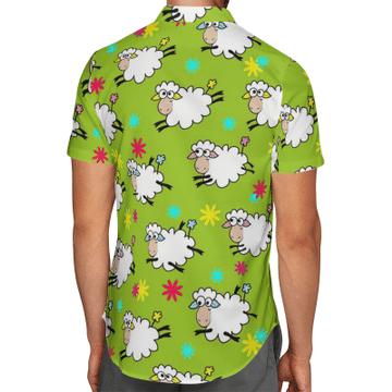 Amazing Sheep Hawaiian Shirt, Beach Shorts