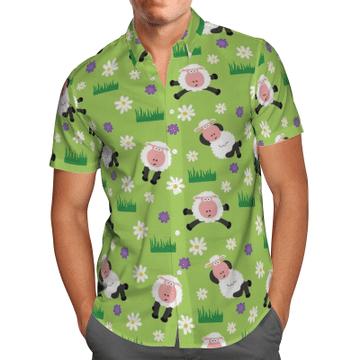 Amazing Sheeps Hawaiian Shirt, Beach Shorts