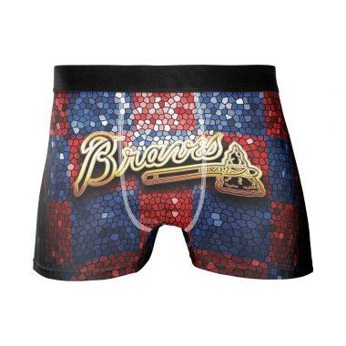 Atlanta Braves Men's Underwear Boxer Briefs