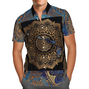 Awesome Hawaii Mandala Hawaiian Shirt, Beach Shorts