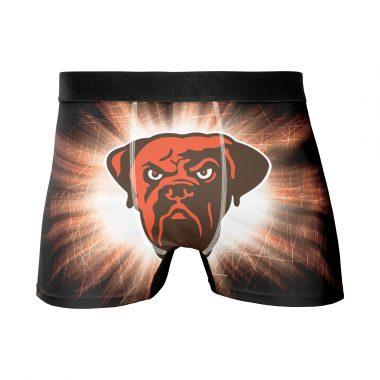 Cleveland Browns Men's Underwear Boxer Briefs