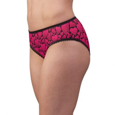 Hearts Valentines Day Holiday Love Women's Briefsunderwear Panties