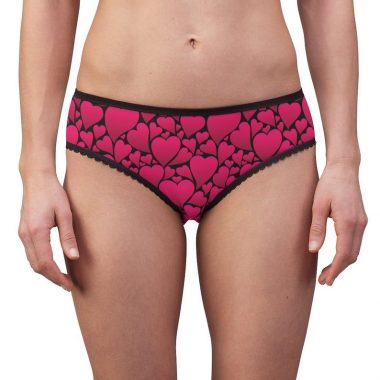 Hearts Valentines Day Holiday Love Women's Briefs underwear Panties
