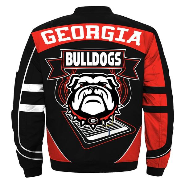 2020 Newest NCAA Jacket Custom Georgia Bulldogs Jackets For Mens Bomber Jacket Size S-5XL