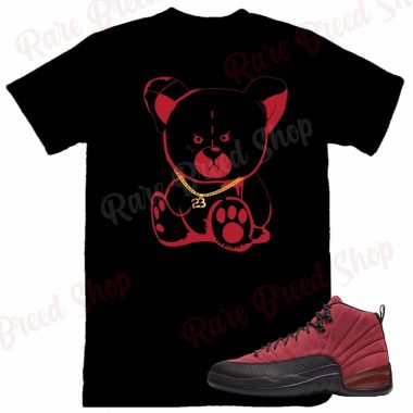 Air Jordan Retro 12 Reverse Flu Game 23 Chain Sneaker T-shirt
