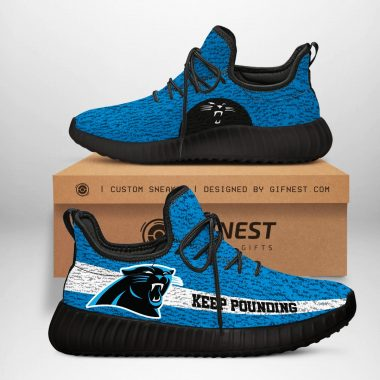 Carolina Panthers NFL Yeezy Boost 350 V2 Sneaker