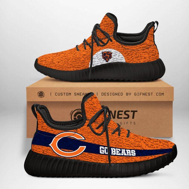 Chicago Bears NFL Yeezy Boost 350 V2 Sneaker