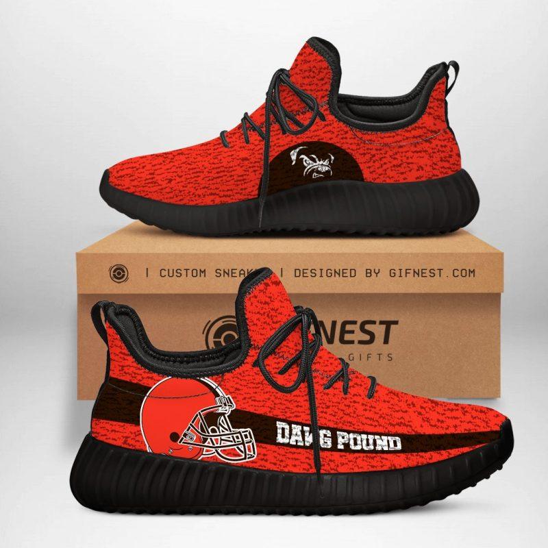 Cleveland Browns NFL Yeezy Boost 350 V2 Sneaker