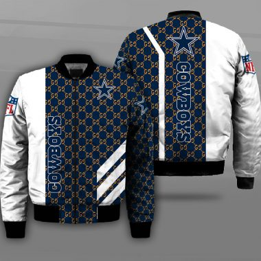 Dallas Cowboys NFL The National Football League Bomber Jacket Bomber Jacket Size S-5XL