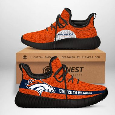 Denver Broncos NFL Yeezy Boost 350 V2 Sneaker