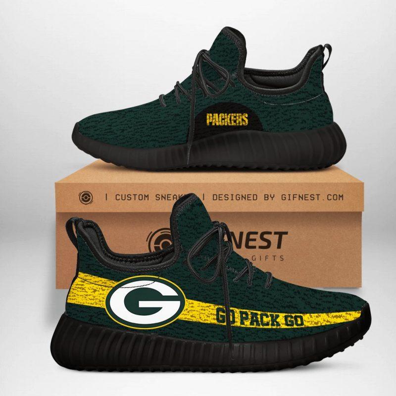 Green Bay Packers NFL Yeezy Boost 350 V2 Sneaker