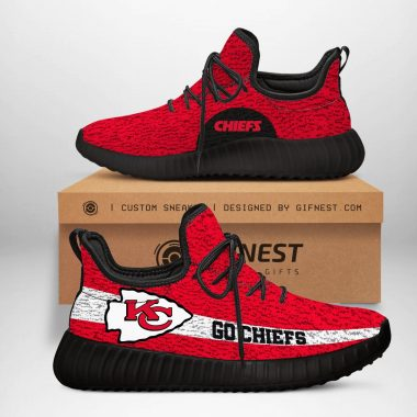 Kansas City Chiefs NFL Yeezy Boost 350 V2 Sneaker