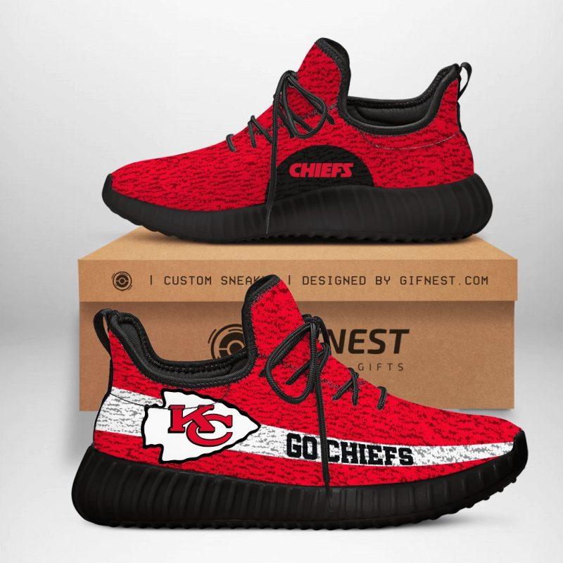Kansas City Chiefs NFL Yeezy Boost 350 V2 Sneaker