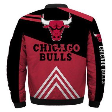 NBA Bomber Jacket Men Chicago Bulls Jackets For Sale Bomber Jacket Size S-5XL