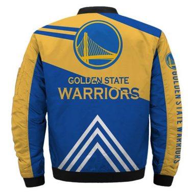 NBA Bomber Jacket Men Golden State Warriors Jacket For Sale 01 Bomber Jacket Size S-5XL