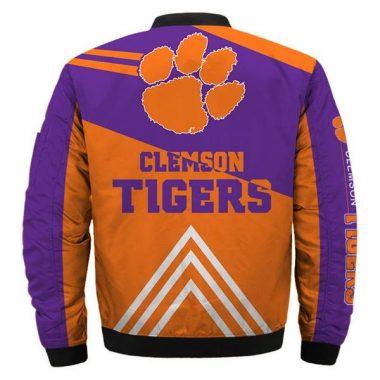 NCAA Bomber Jackets Clemson Tigers Jacket Sale Bomber Jacket Size S-5XL