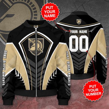 Personalized ARMY BLACK KNIGHTS Football Bomber Jacket