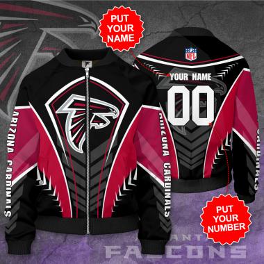 Personalized ATLANTA FALCONS NFL Football Bomber Jacket