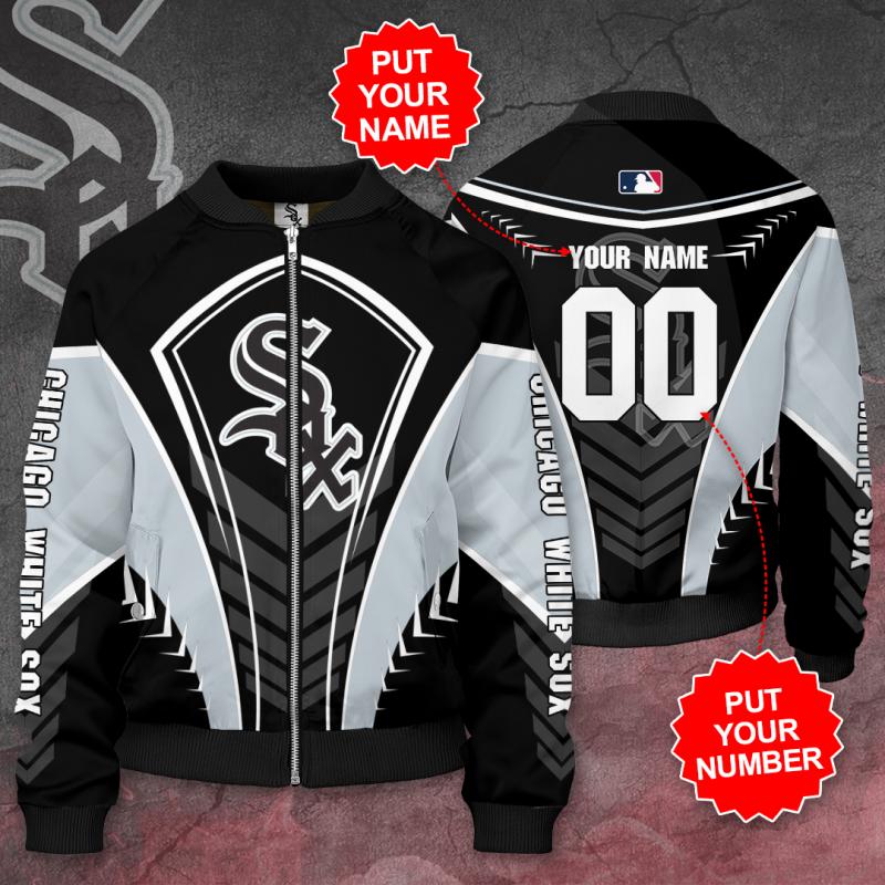 Personalized CHICAGO WHITE SOX MLB Baseball Bomber Jacket