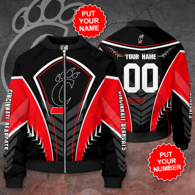 Personalized CINCINNATI BEARCATS Football Bomber Jacket