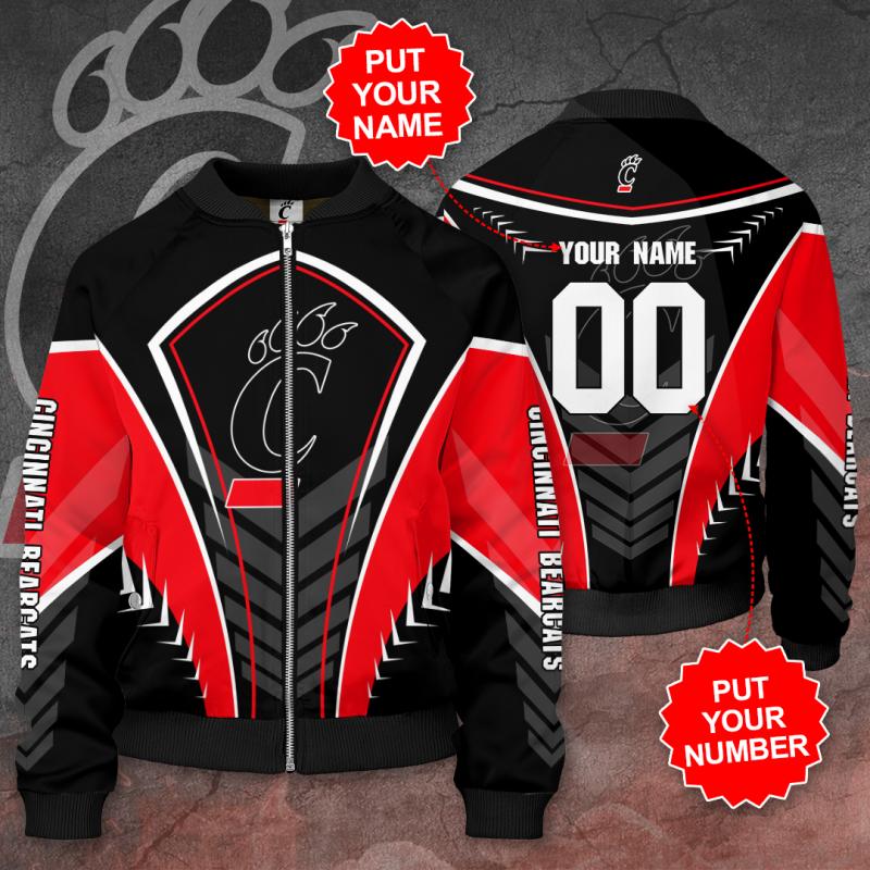 Personalized CINCINNATI BEARCATS Football Bomber Jacket