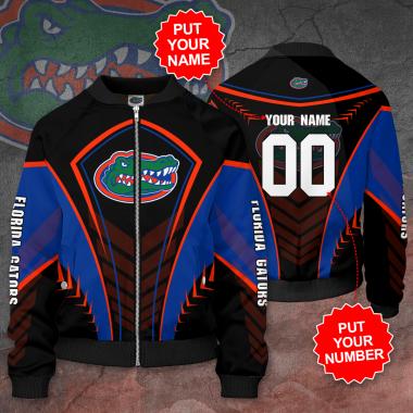 Personalized FLORIDA GATORS Football Bomber Jacket