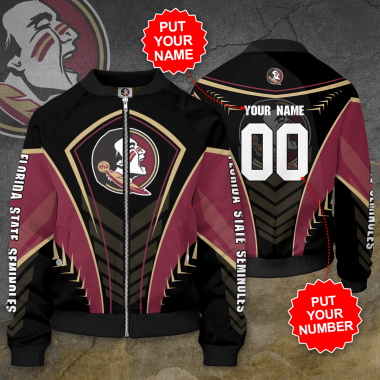 Personalized FLORIDA STATE SEMINOLES Football Bomber Jacket