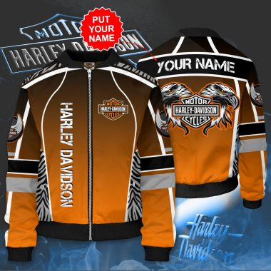 Personalized HARLEY DAVIDSON Bomber Jacket