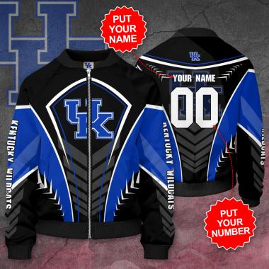 Personalized KENTUCKY WILDCATS Football Bomber Jacket