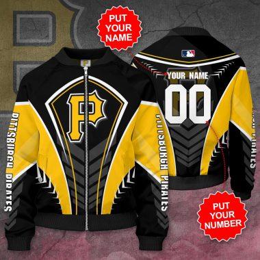 Personalized PITTSBURGH PIRATES MLB Baseball Bomber Jacket
