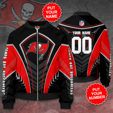 Personalized TAMPA BAY BUCCANEERS NFL football Bomber Jacket