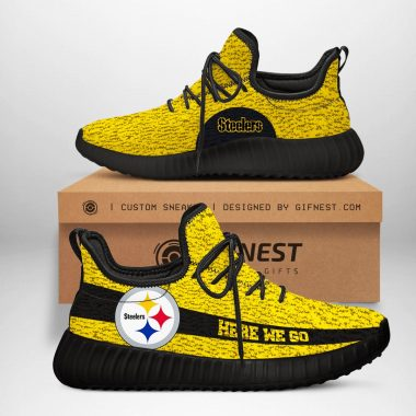 Pittsburgh Steelers NFL Yeezy Boost 350 V2 Sneaker