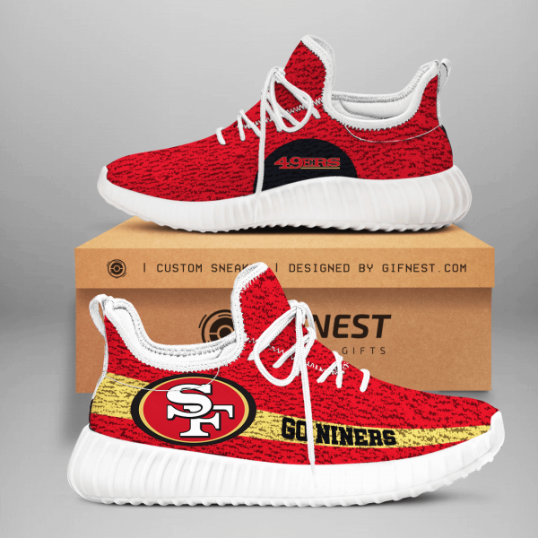 San Francisco 49ers NFL Yeezy Boost 350 V2 Sneaker