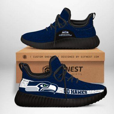 Seattle Seahawks NFL Yeezy Boost 350 V2 Sneaker