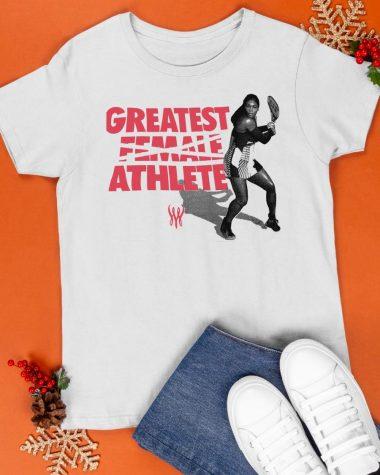 Serena Williams Greatest Female Athlete T-Shirt 2