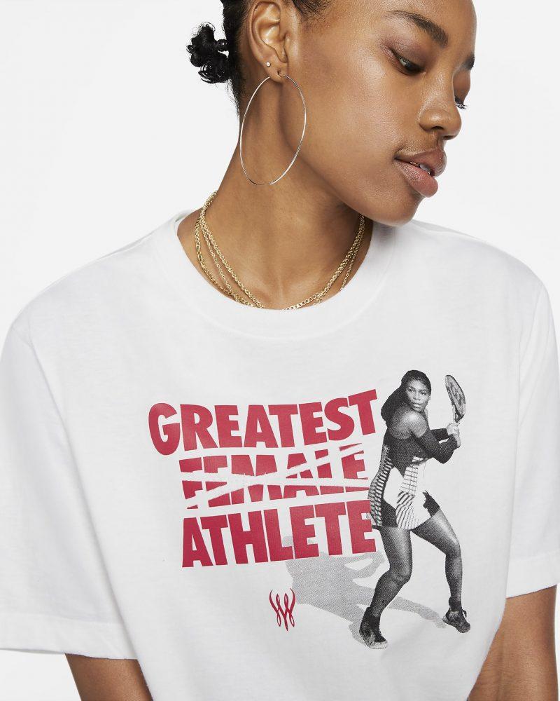 Serena Williams Greatest Female Athlete T-shirt