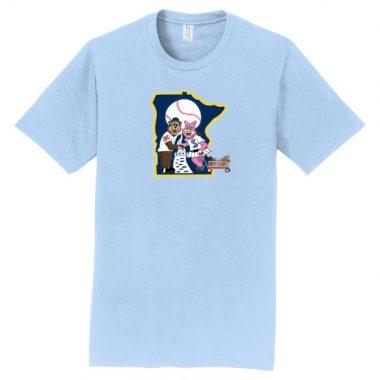 Twinning Mascot t-shirt