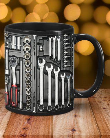 Mechanic Toolbox Set Mug, Coffee Mug