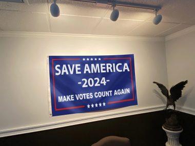 Save America Again - Make Votes Count Again Flag