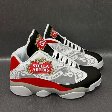 Stella Artois Beer Form Air Jordan 13 Sneakers Shoes Full Size