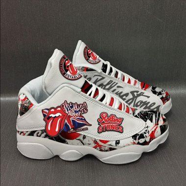 The Rolling Stones Jordan 13 Sneakers Full Size