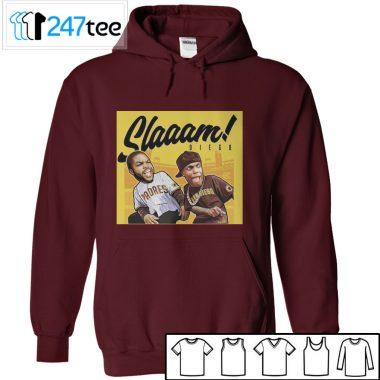 slaaam diego T-shirt, Long Sleeve, Hoodie
