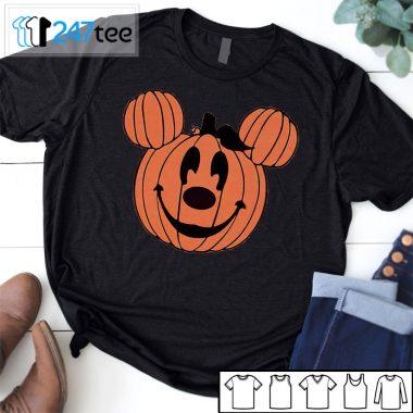 Mickey minie pumpkin face halloween Shirt