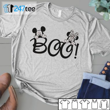 Mickey Mickey minie mouse boo halloween Shirtminie mouse boo halloween Shirt