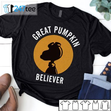 Snoopy Great Pumpkin Believer Halloween Shirt