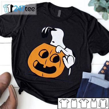 Snoopy drink pumpkin head halloween Shirt